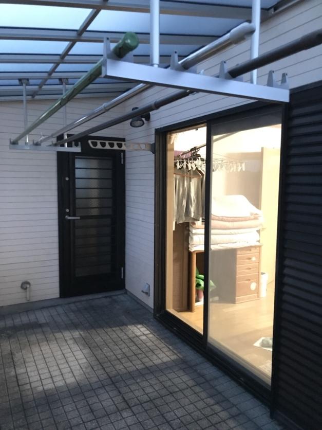 横浜市 勝手口ドア取替工事