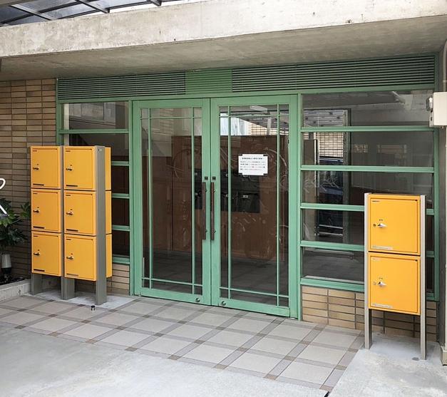 YKKAP宅配ボックス取付 横浜市 ワイドアルミ
