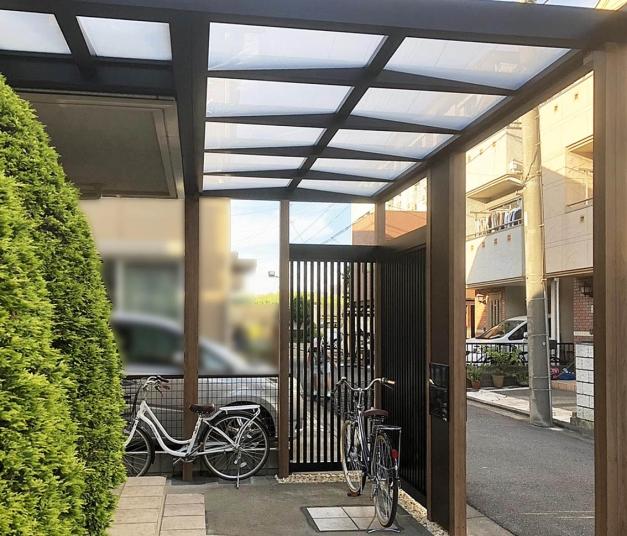 3外構 アプローチ 屋根 LIXIL横浜市p / / / / / / / / / / / / /