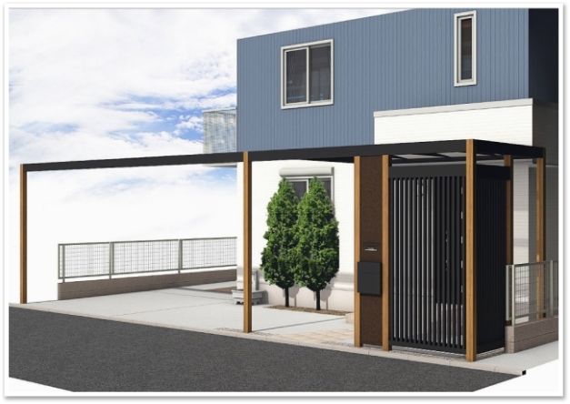 アプローチご提案パース1 横浜市