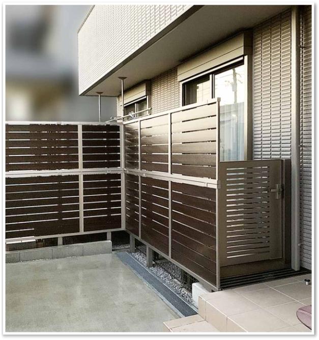 フェンス LIXIL リフォーム 横浜市 戸塚区 神奈川 エクステリア 外構工事