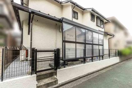 オープン外構 エクステリア工事 神奈川 横浜市 タイル デッキ カーポート フェンス