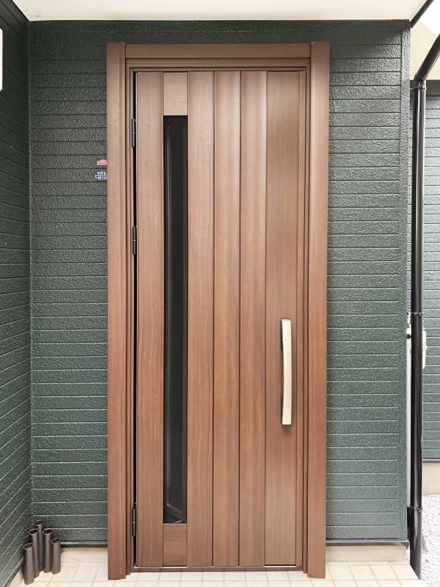 玄関ドア YKKAP 横浜市 神奈川 リフォーム 断熱 通風